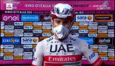 Ulissi po wygraniu 13. etapu Giro d'Italia