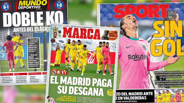 """""""Blada Barcelona"""", """"Real ukarany za bierność"""". Giganci bez formy przed El Clasico"""