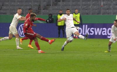 Skrót meczu FC Dueren - Bayern Monachium w 1. rundzie Pucharu Niemiec