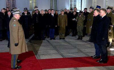 Pułkownik Szczurek z nominacją generalską