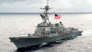Okręty USA w Cieśninie Tajwańskiej. Dzień przed spotkaniem na szczycie