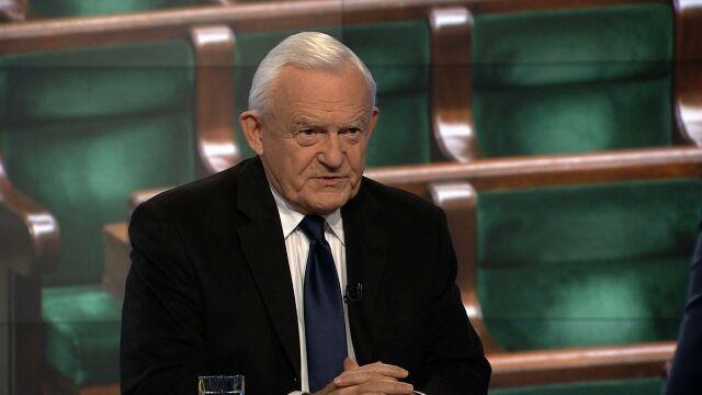 """Leszek Miller w """"Faktach po Faktach"""" w TVN24"""