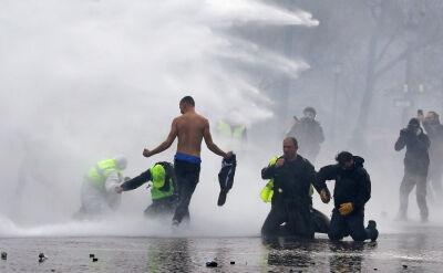 Starcia z policją w Paryżu. Relacja korespondentki TVN24 BiS