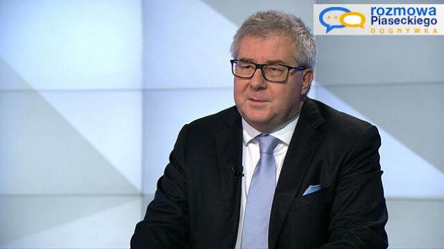 """Ryszard Czarnecki był gościem dogrywki """"Rozmowy Piaseckiego"""""""