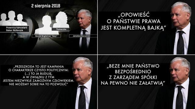 Drugie nagranie rozmowy Jarosława Kaczyńskiego