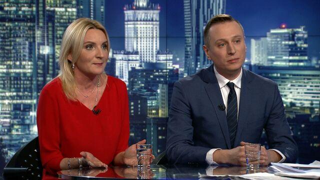 """Agnieszka Ścigaj i Krzysztof Brejza byli gośćmi """"Faktów po Faktach"""""""