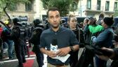 Madryt próbuje blokować referendum. Relacja reportera TVN24