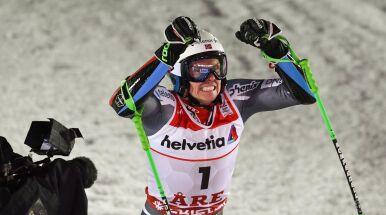 Kristoffersen złoty w slalomie gigancie