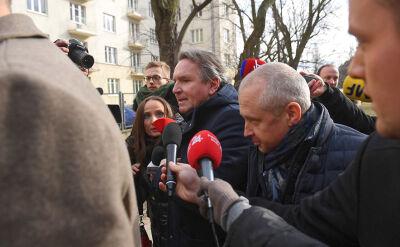 Przesłuchanie austriackiego biznesmena przerwane