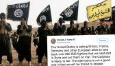 Trump wzywa do osądzenia bojowników IS