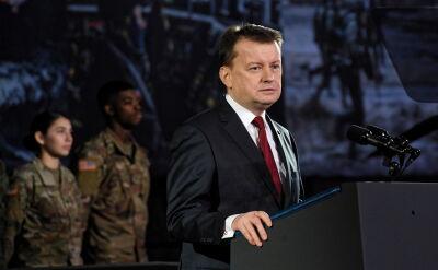 Błaszczak: system HIMARS to broń, która zapewni Polsce bezpieczeństwo