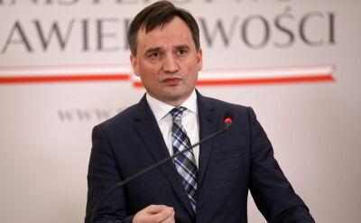 Ziobro: tu nie chodzi o spór o sądownictwo, ale by przeciągnąć decyzję TSUE przed datę wyborów do PE