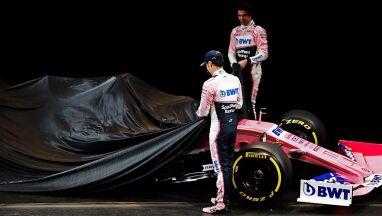 Nowa nazwa w F1. Różowy kolor pozostał