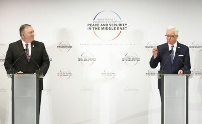Czaputowicz: Iran nie był tematem obrad