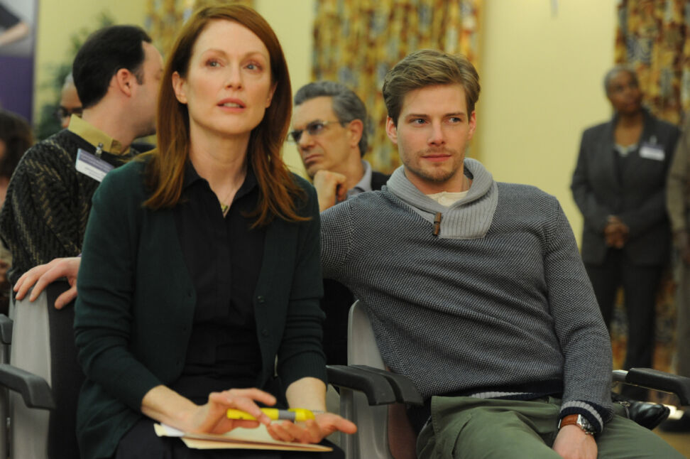 Julianne Moore i Hunter Parrish