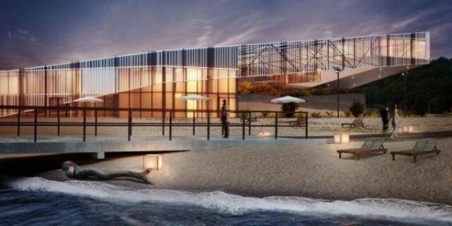 Luksusowy hotel w dawnej torpedowni mógłby być wizytówka Gdyni