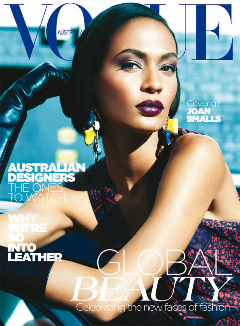 "Joan Smalls - australijski ""Vogue"", maj 2012"