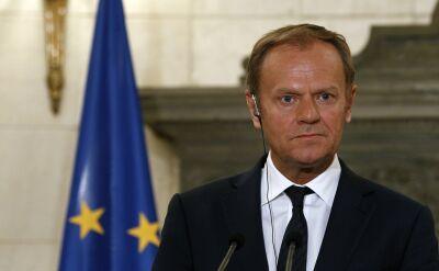 Donald Tusk potępił atak chemiczny w Idlib