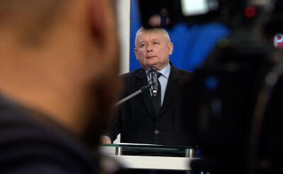 Kaczyński o elitach: ci, którzy pracują dla naszych wrogów, są napiętnowani i będą piętnowani dalej