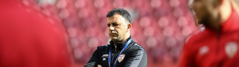 Trener Macedonii Północnej ostrzega: na wyjazdach nie przegrywamy