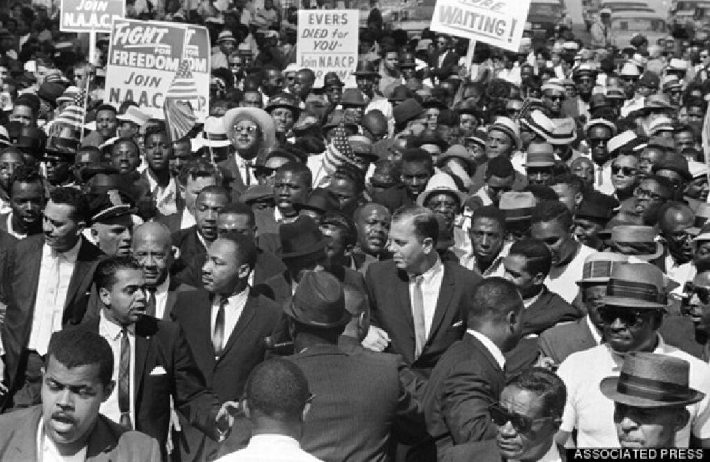 Detroit Walk to Freedom. Słynny marsz, który odbył się na ulicach miasta w 1963 roku. Brał w nim udział m.in. Martin Luther King