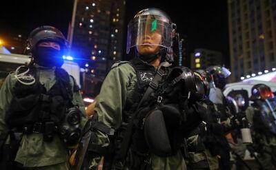 Znów niespokojnie w Hongkongu