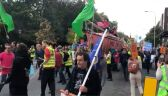 Protest klimatyczny w Dublinie
