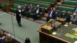 Ceremonia zawieszenia Izby Gmin