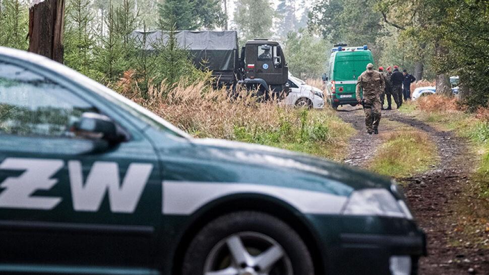 Znane są wyniki sekcji saperów, miejsce wybuchu wciąż zabezpiecza wojsko