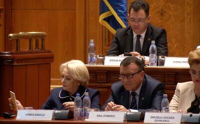 Głosowanie nad wotum nieufności dla rządu Dancili, czerwiec 2018