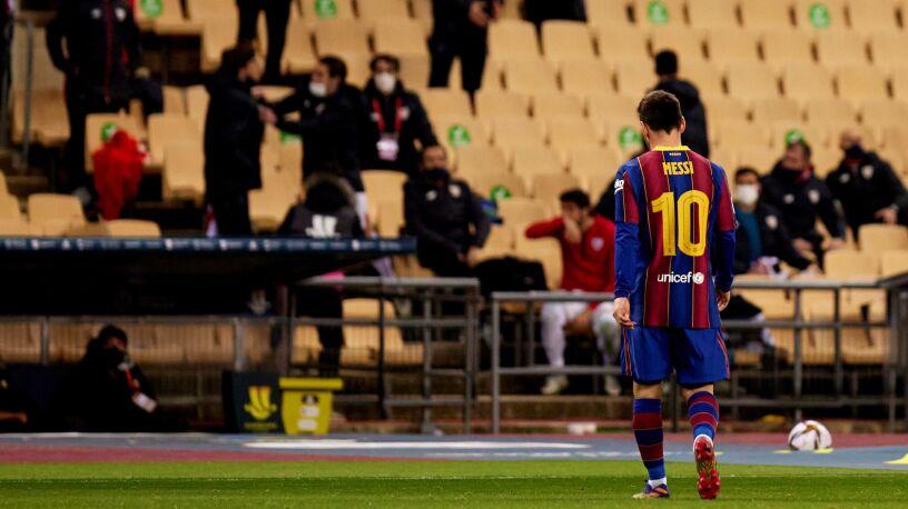Messi zawieszony. Najwyższej kary uniknął