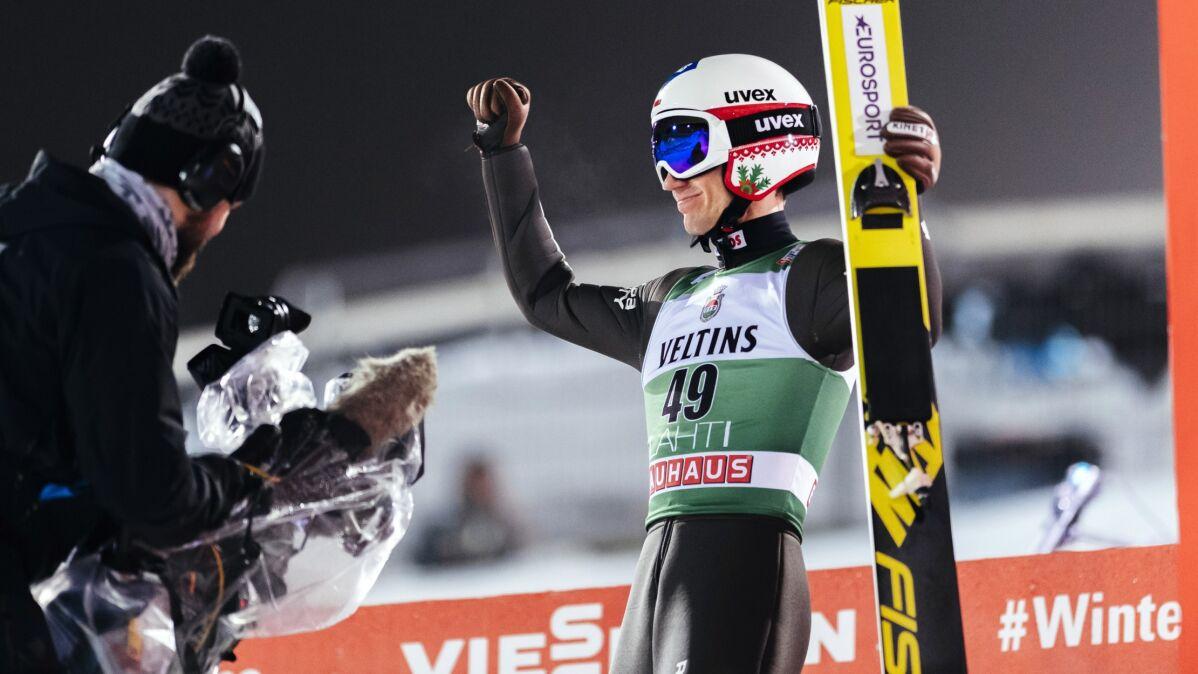 Skoczyć jak w 2019, a nie w 2020 roku. Stoch po czwarte zwycięstwo w Lahti
