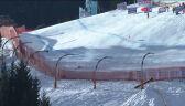 Upadek Cochran-Siegle'a w piątkowym zjeździe w Kitzbuehel