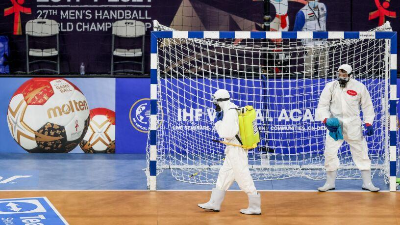 Mistrzostwa w dobie pandemii. Nietypowe obrazki przed meczem Polaków