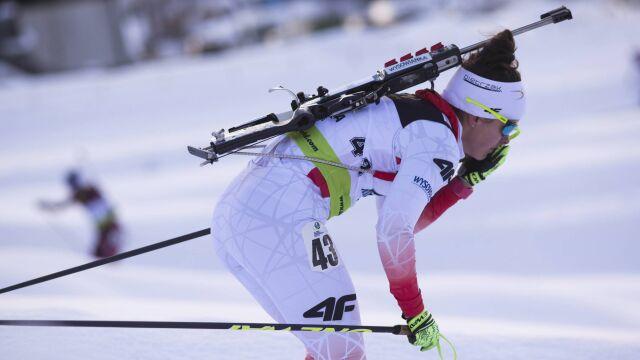 """Na taki dzień polska biathlonistka czekała ponad sześć lat. """"Mam jeszcze rezerwy"""""""
