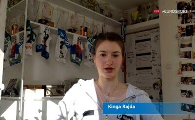 Kinga Rajda o łączeniu wyczynowego sportu z nauką