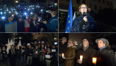 Demonstracja poparcia dla sędziego Juszczyszyna