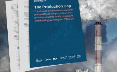 Wzrasta wydobycie węgla i ropy naftowej