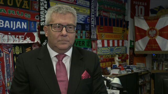 Czarnecki dla TVN24: ja nie odwołam swoich krytycznych opinii