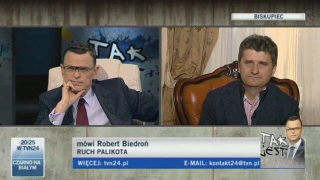 Biedroń: tak się mówi (TVN24)
