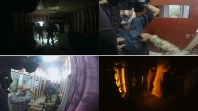 Wideo z tajnej operacji odbicia zakładników w Iraku