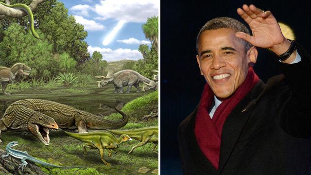 Obamadon - dinozaur nazwany na cześć zębów Obamy