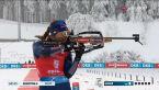 Ostatnie strzelanie w biegu masowym kobiet w Oberhofie