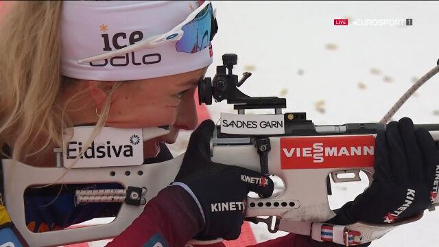 Najlepsza trójka sprintu kobiet w Oberhofie