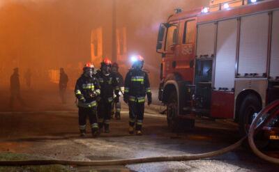 Strażacy w akcji podwyższonego ryzyka