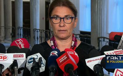 Rzeczniczka PiS: nie poprzemy żadnego wniosku o powołanie komisji śledczej w sprawie KNF