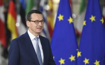 Premier Morawiecki przed szczytem Unii Europejskiej w sprawie brexitu