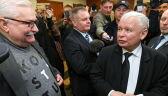 Kaczyński i Wałęsa nie podali sobie ręki