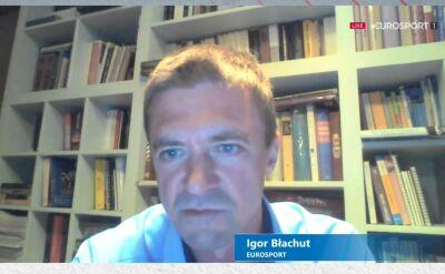 Igor Błachut o początkach w Eurosporcie