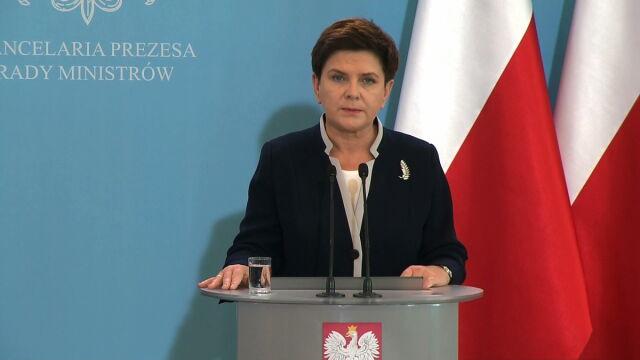 Szydło: Wezwałam ministra Waszczykowskiego. Nie będę aprobować takich komentarzy